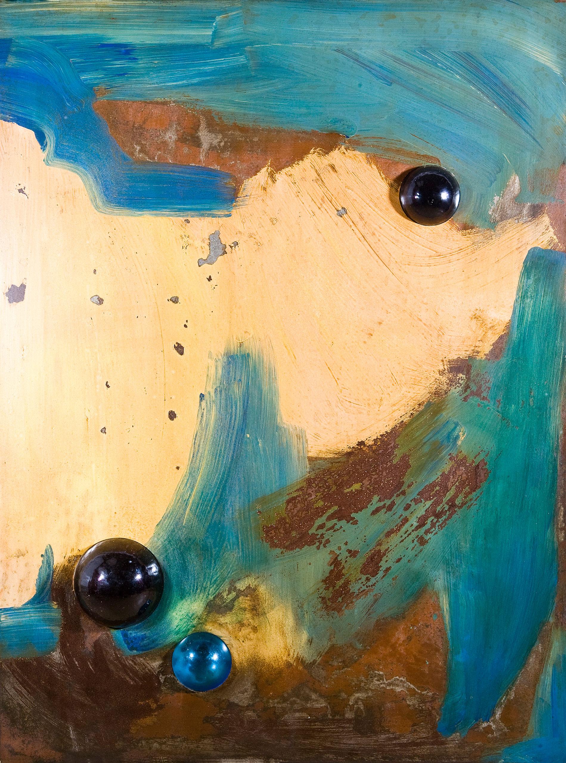 Vintage Modern Blue v.02 by Jacqueline Gilmore